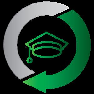 Graduate hat – education icon