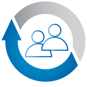 Two people – Training icon